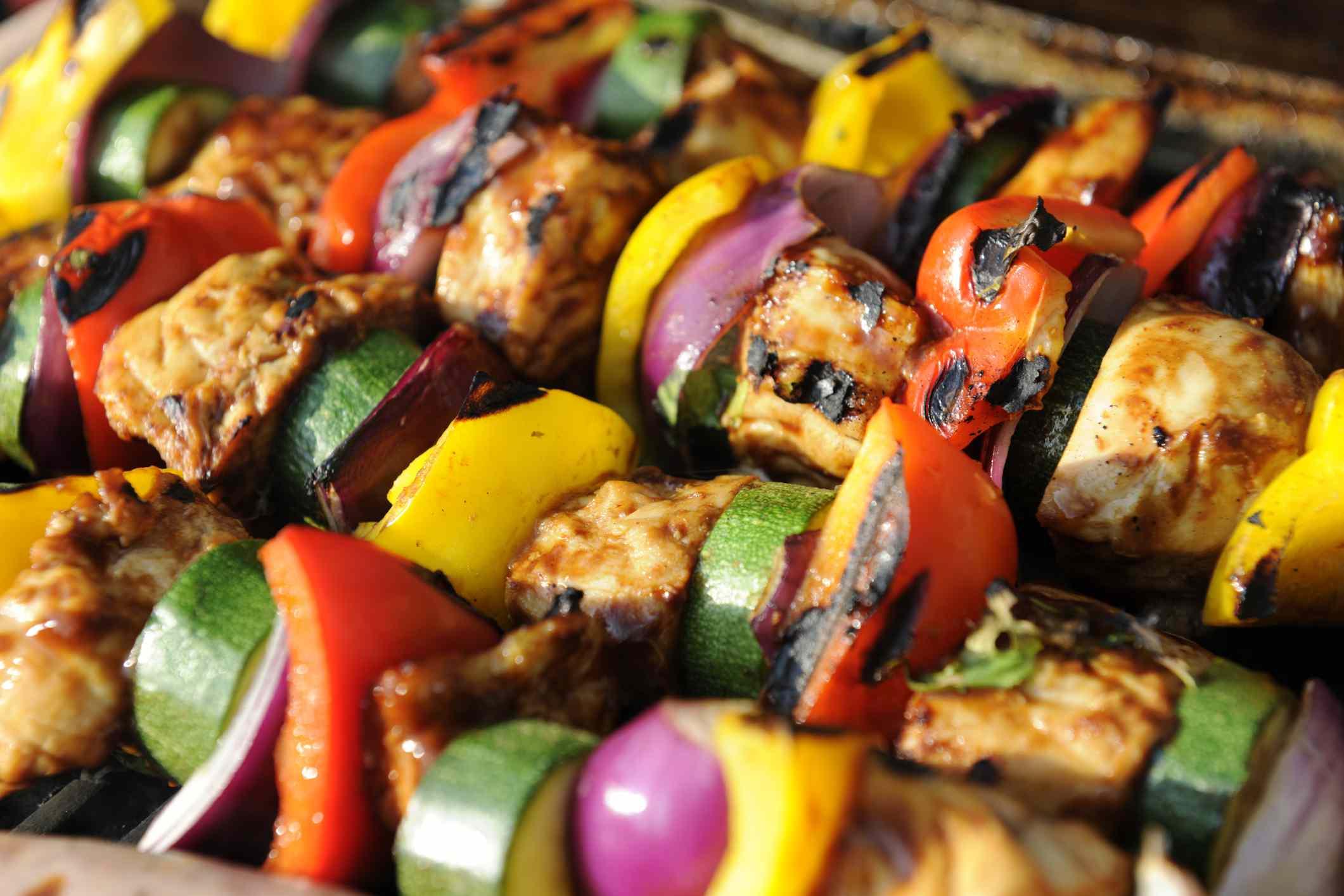 Romanian chicken kebabs