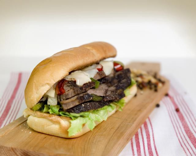 Sandwich de carne fácil