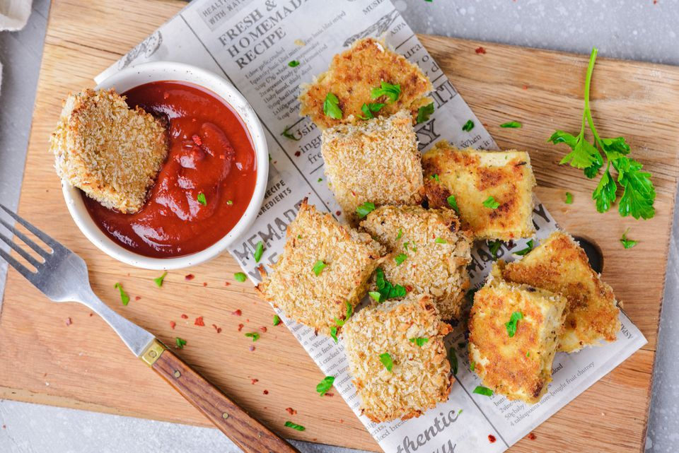 Easy Breaded Tofu Nuggets