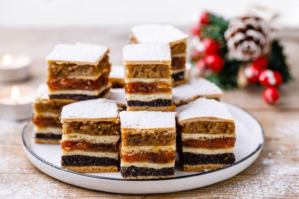 Pastel de Navidad de Ucrania (Perekladanets)