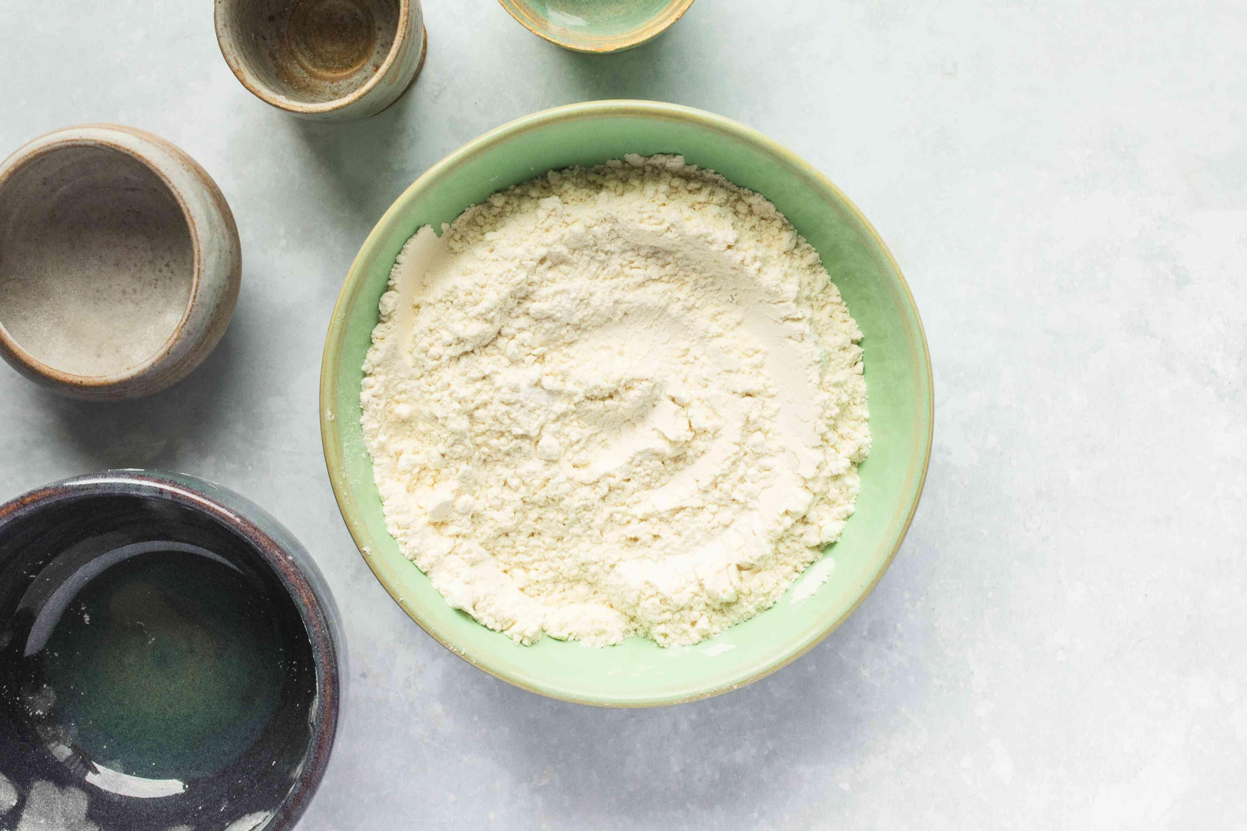 Combine flour