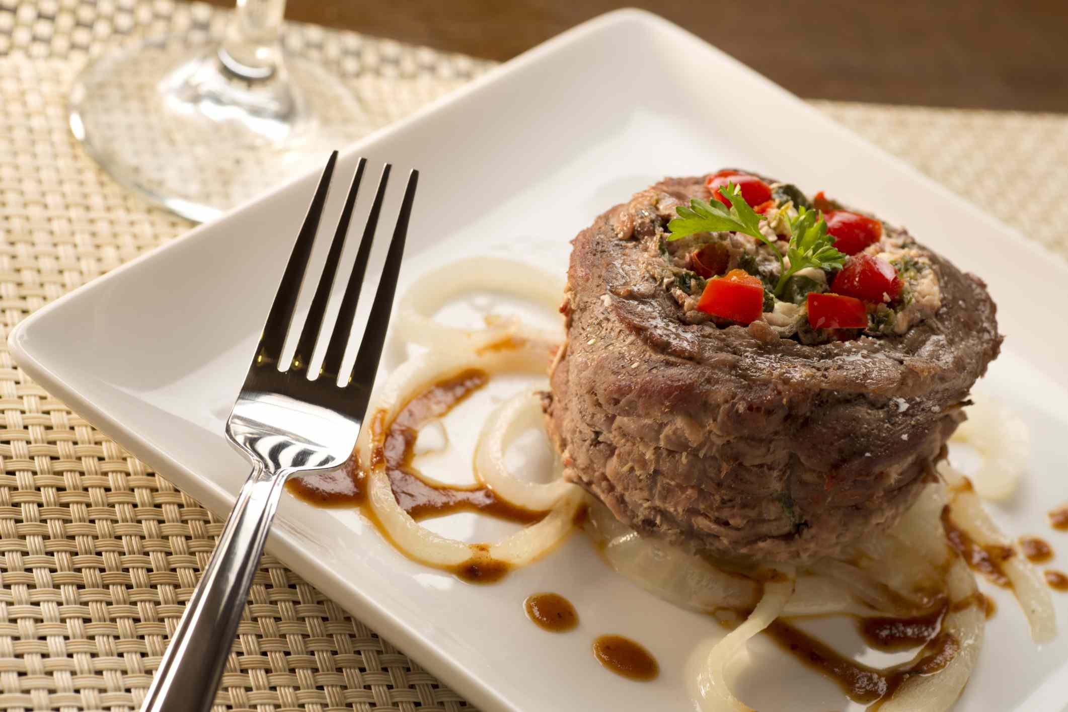 Italian Beef Braciole - recipe for Braciole