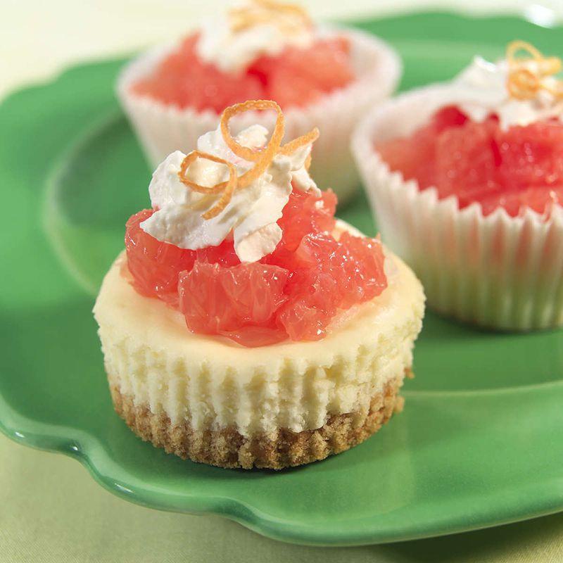 Mini Cheesecakes With Vanilla Wafer Crust