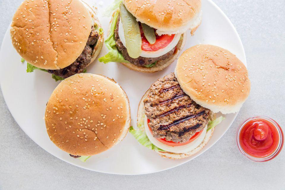 Juicy Grilled Burgers