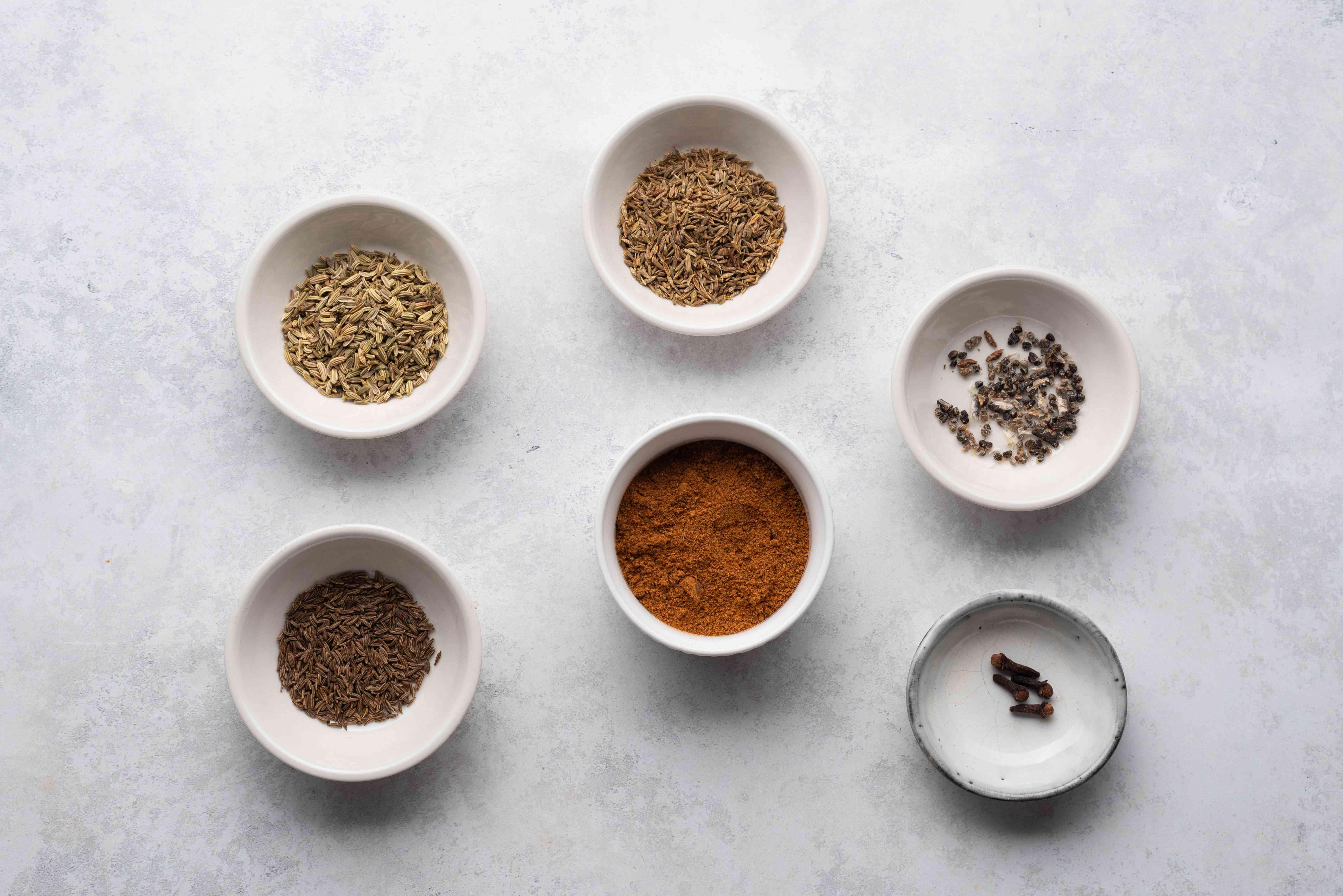 spice mix ingredients