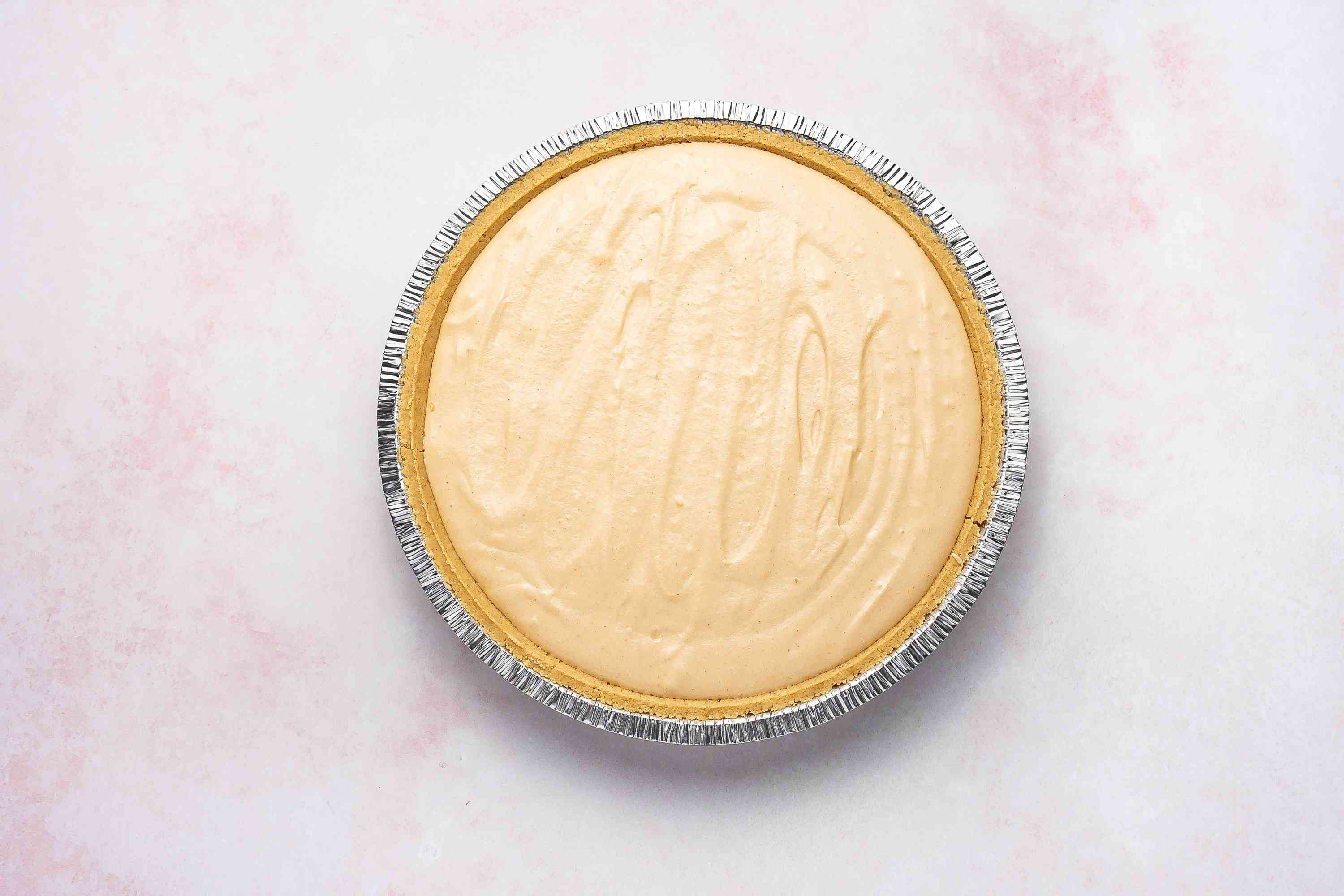 No-Bake Peanut Butter Pie With Cream Cheese Filling
