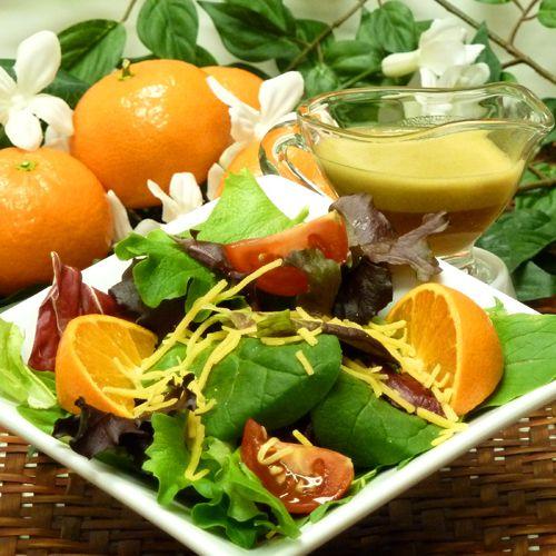 image, photo, vinaigrette recipe, orange, mandarin, tangerine, clementine, oil, vinegar, receipts