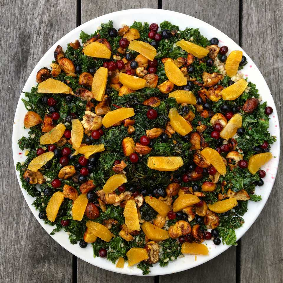 kale and orange salad