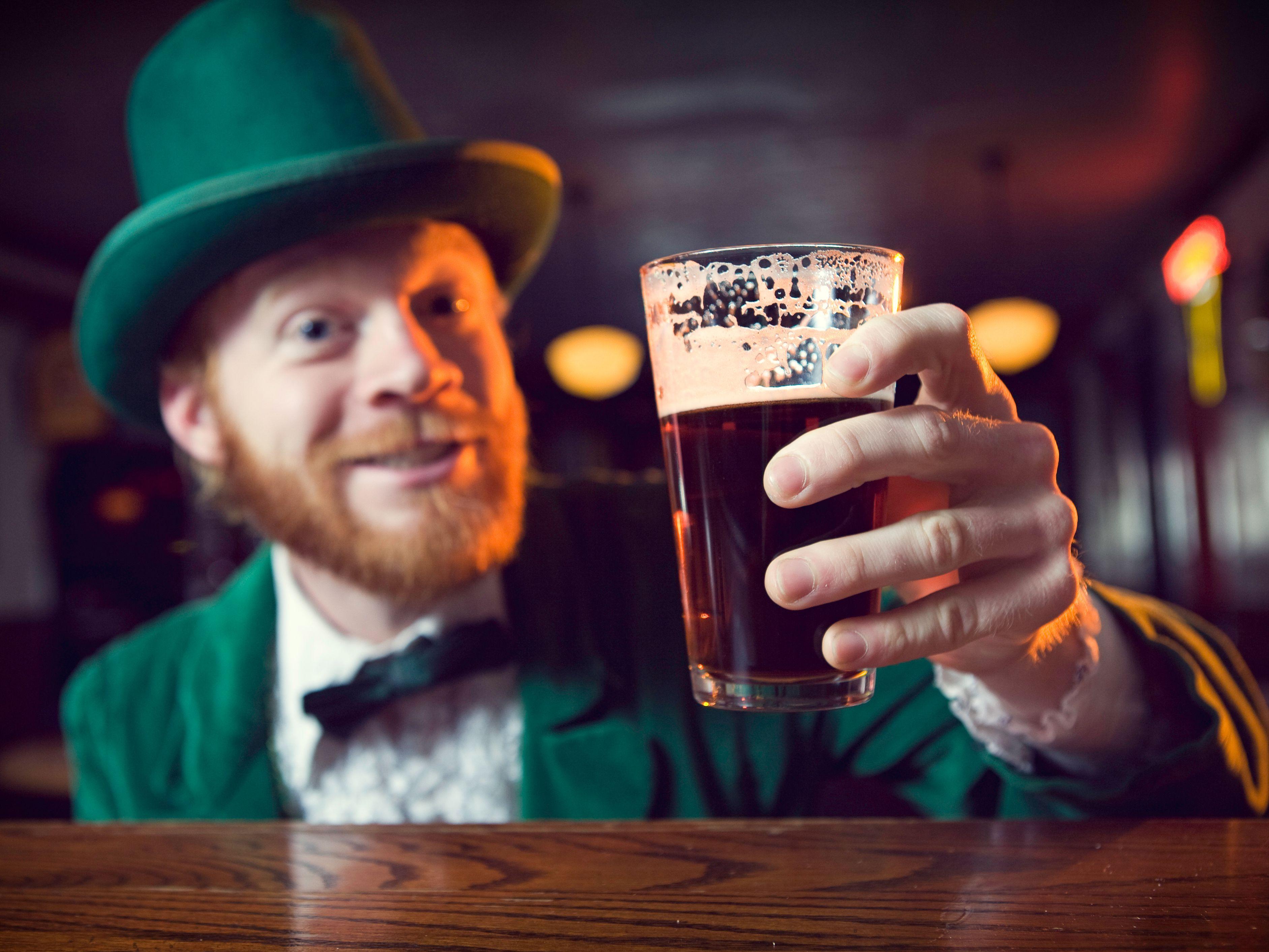 20 Irish Drinking Toasts for St  Patrick's Day