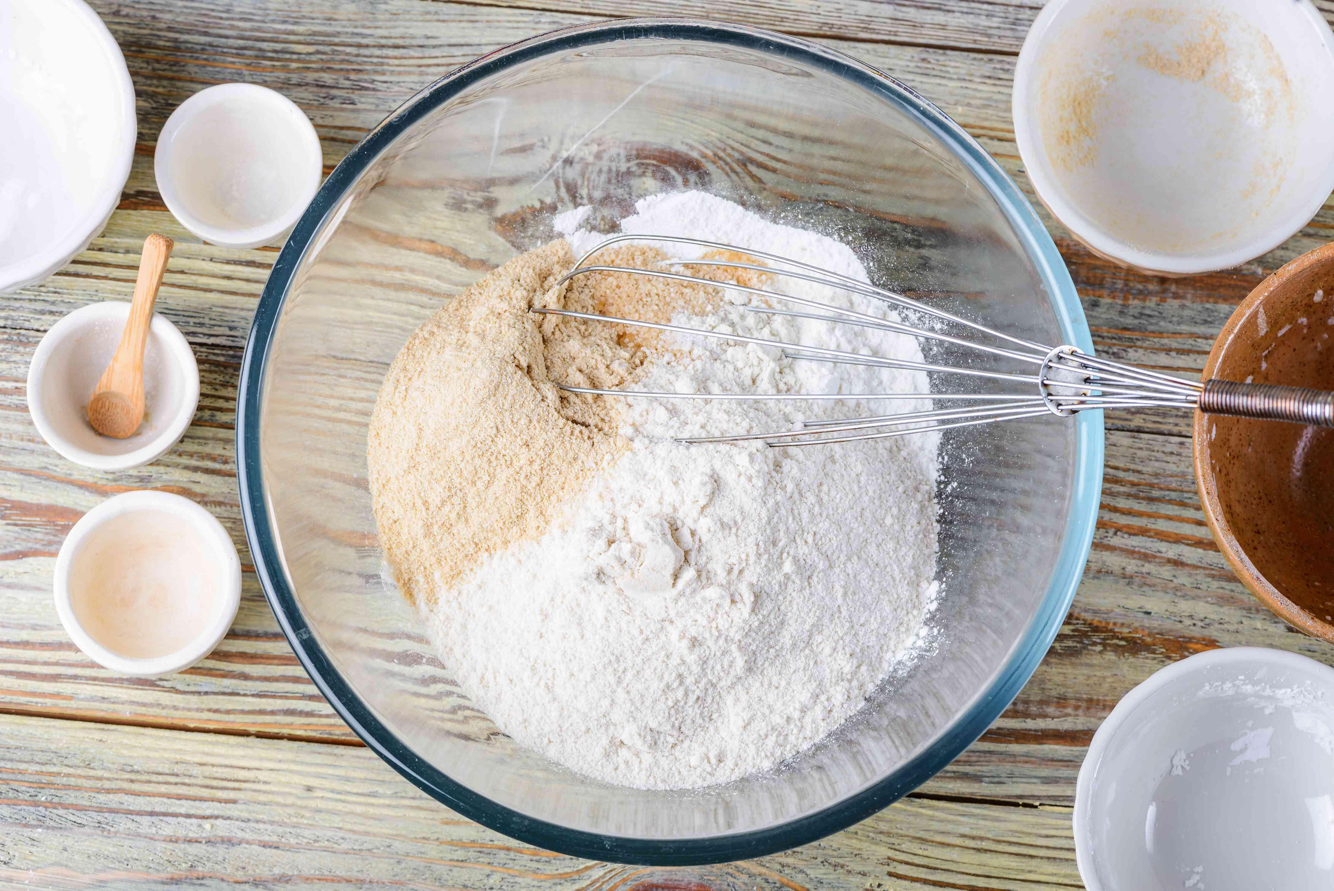 Measure dry ingredients