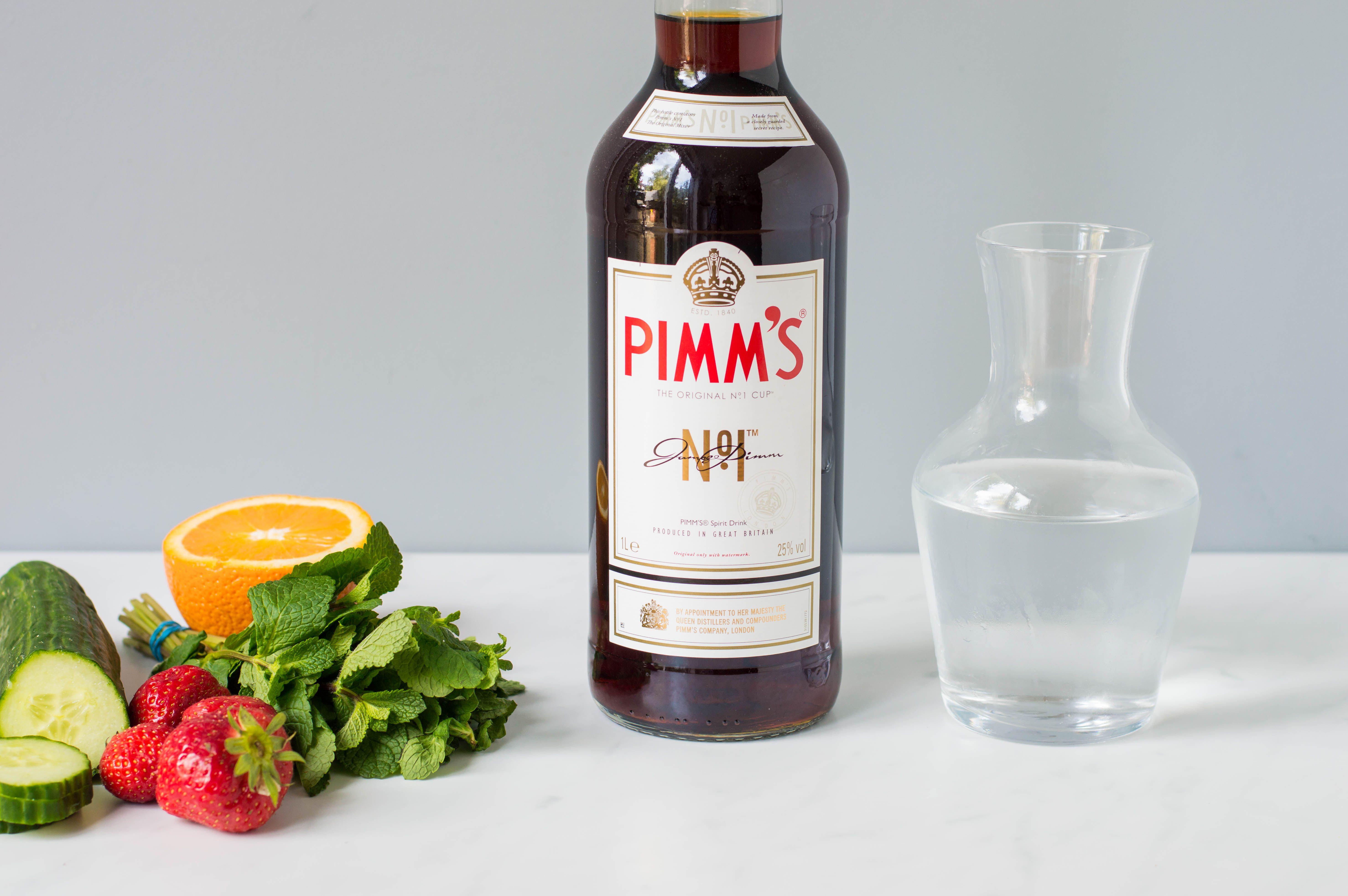 Original Pimms Cup No 1 Cocktail Recipe