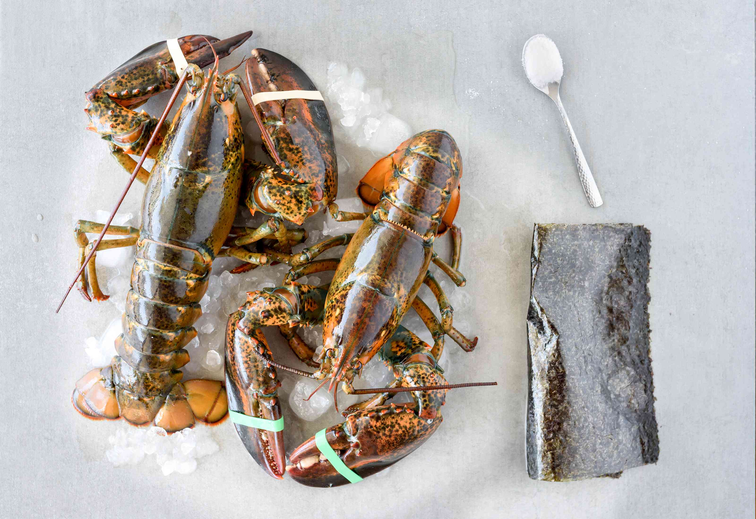 Ingredients for lobster