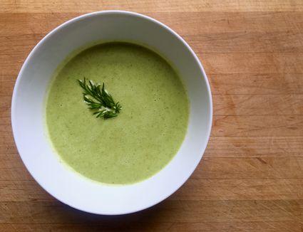 Chilled Watercress Yogurt Soup