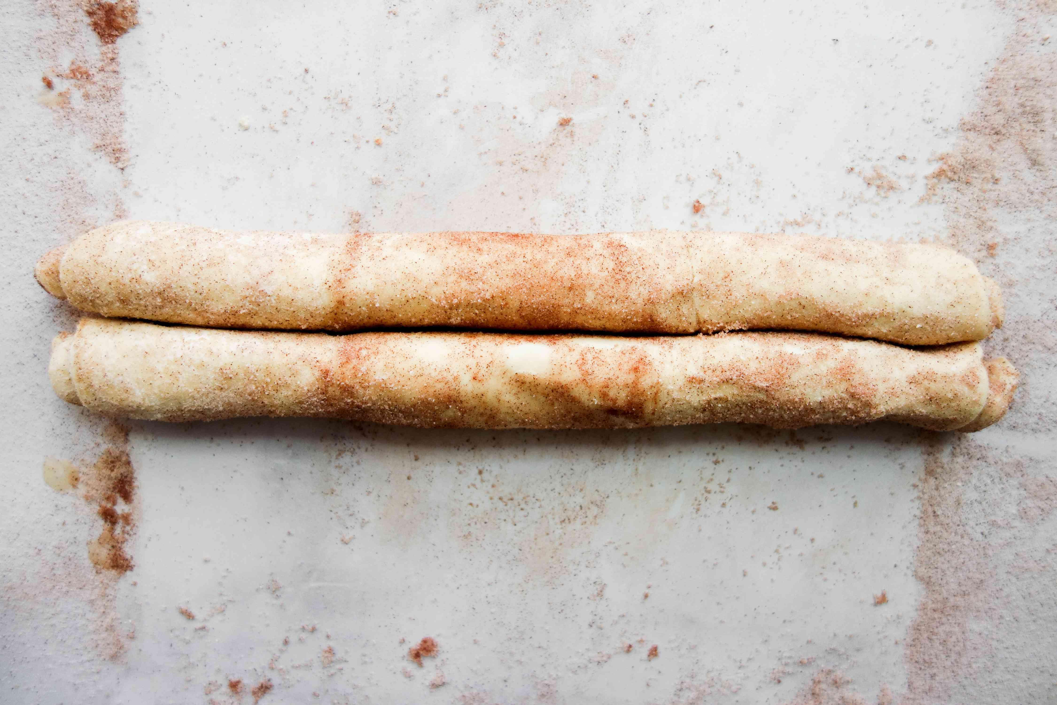 cinnamon rolls on the table