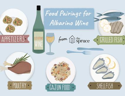 food pairings for albarino wine