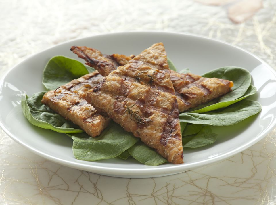 Barbecue baked tempeh recipe