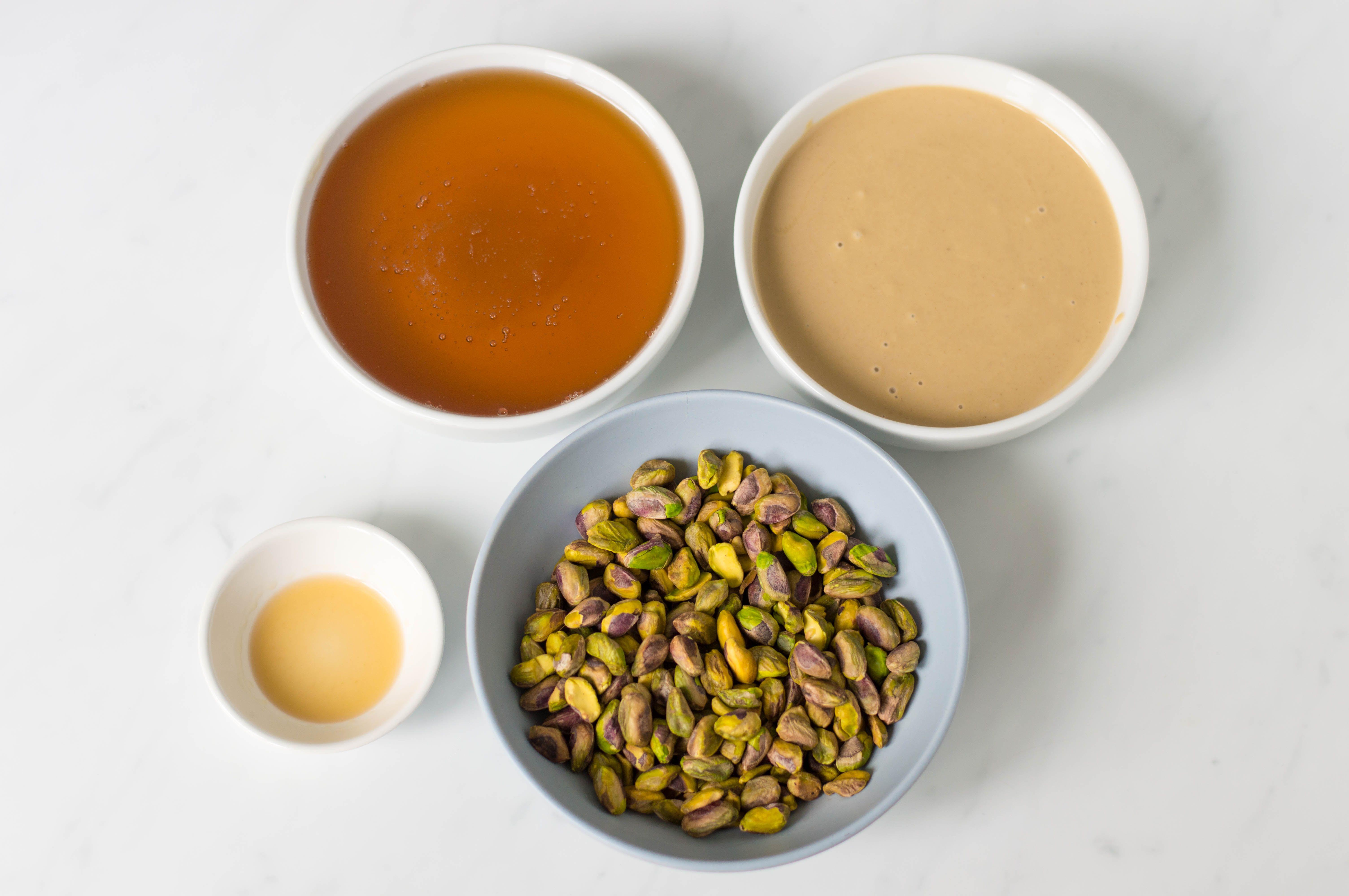 Sesame tahini halvah recipe ingredients