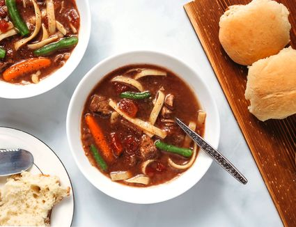 Healthy Crockpot Beef Stew
