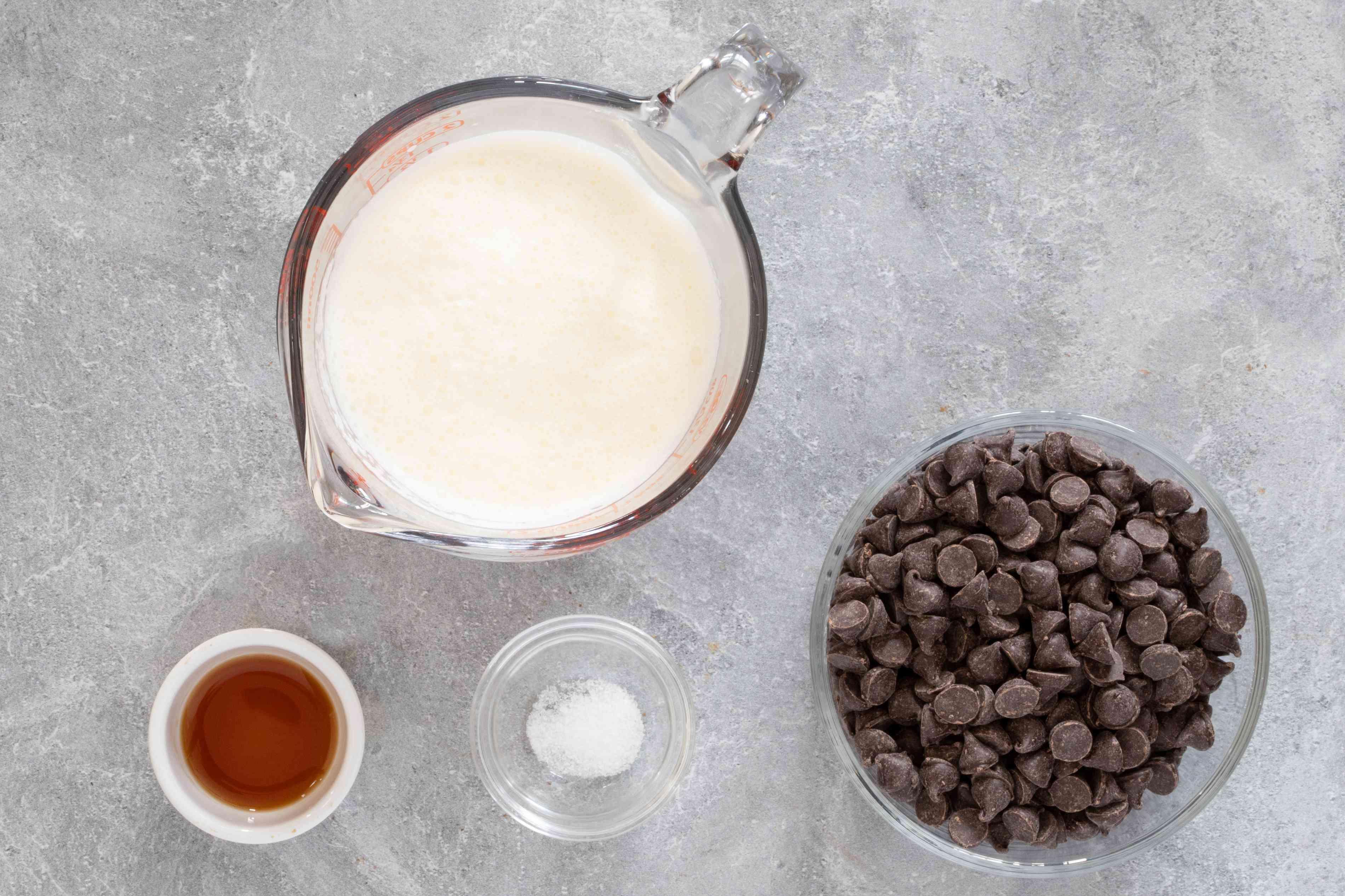 ingredients for ganache