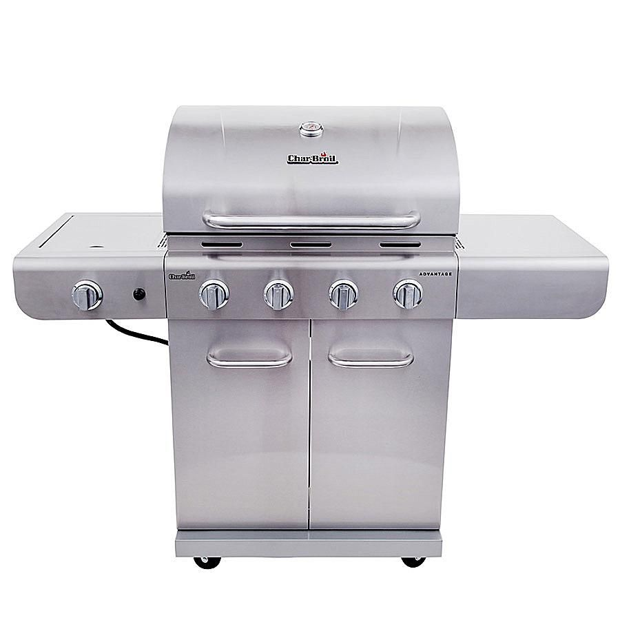 Char-Broil Advantage 4-Burner Stainless Model# 463344116