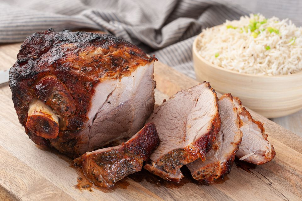 Pork Shoulder Roast With Dry Spice Rub