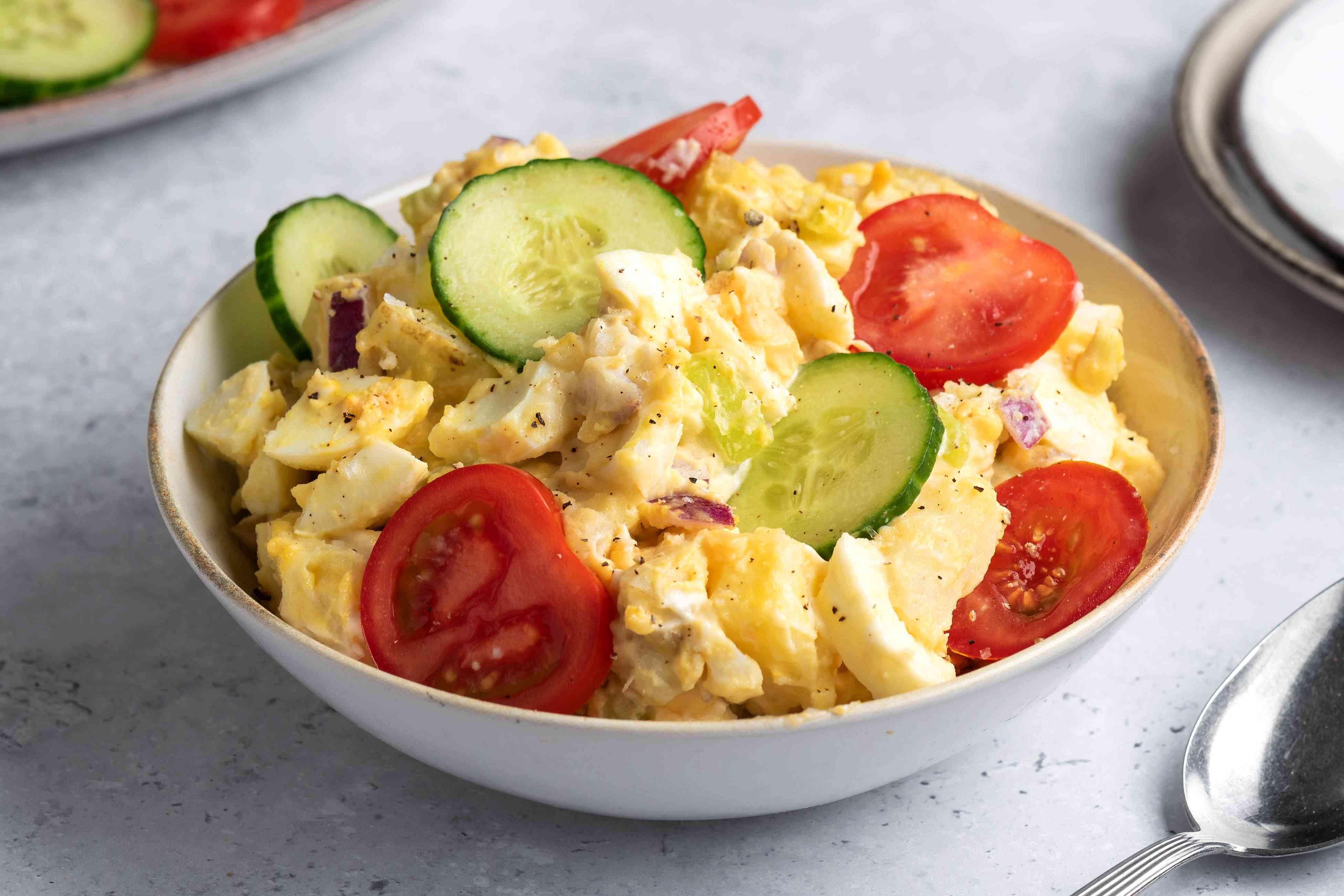 Picnic Potato Salad With Eggs