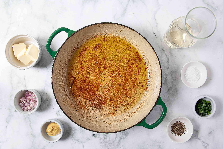 Pan Sauce for Chicken, Pork, or Steak ingredients