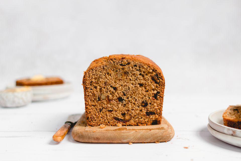 Classic Moist Date Nut Bread