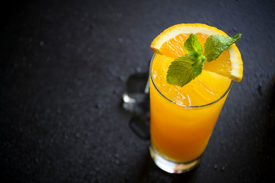 Bocce ball cocktail