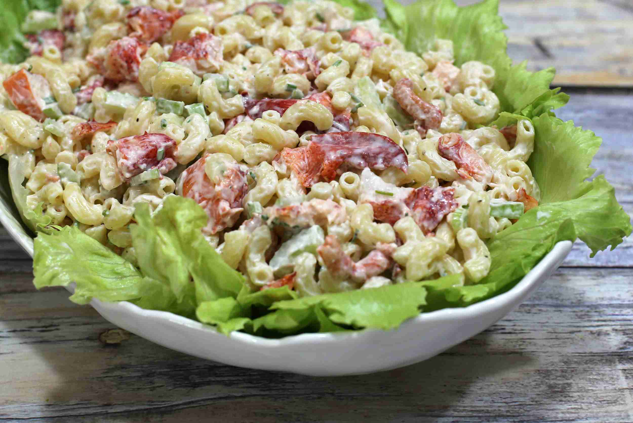 Lobster and Macaroni Salad