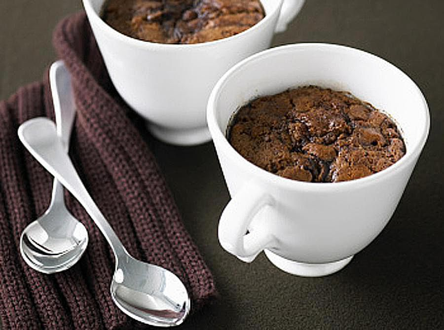 Chocolate Coconut Microwave Mug Cake