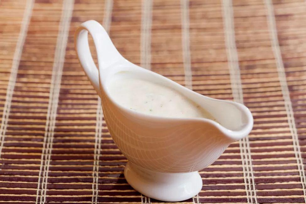 Yogurt Mint Salad Dressing