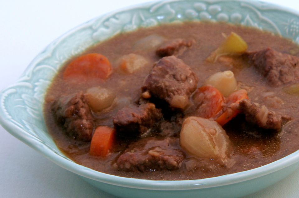 Beef Stew With Red Wine