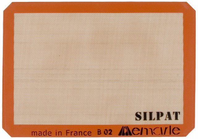 "Silpat 11-5/8"" x 16-1/2"" Non-Stick Silicone Baking Mat"