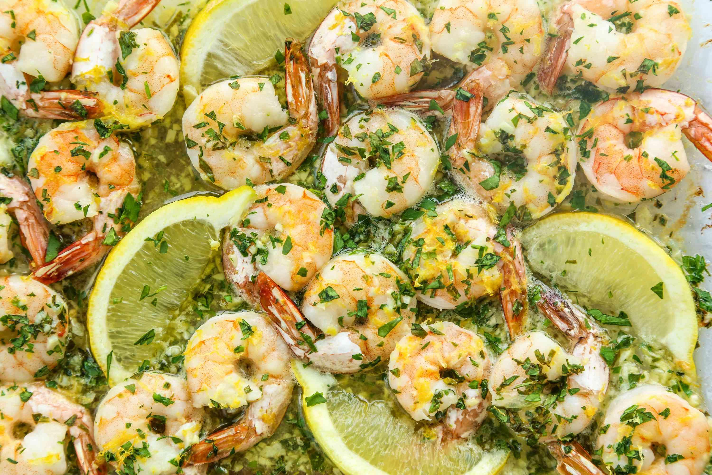 Baked Shrimp Scampi With Lemon and Garlic