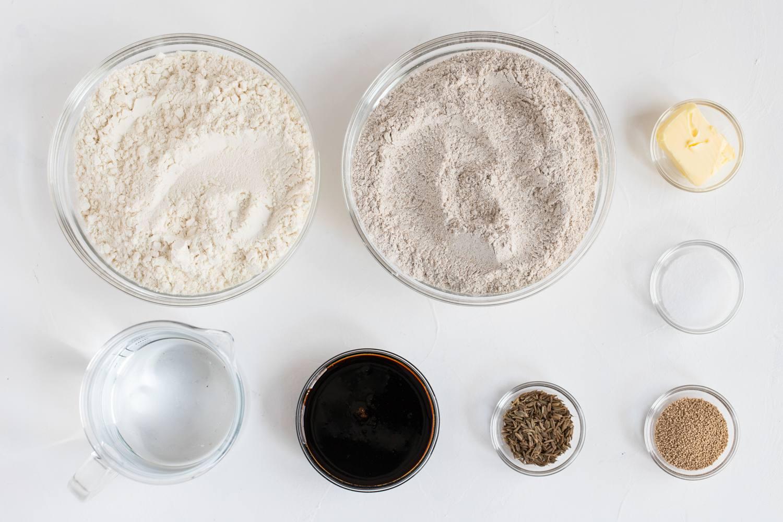 Pumpernickel Bread recipe ingredients