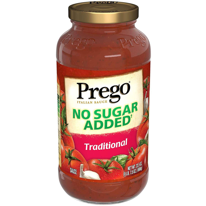 Prego No Sugar Added Traditional Tomato Sauce