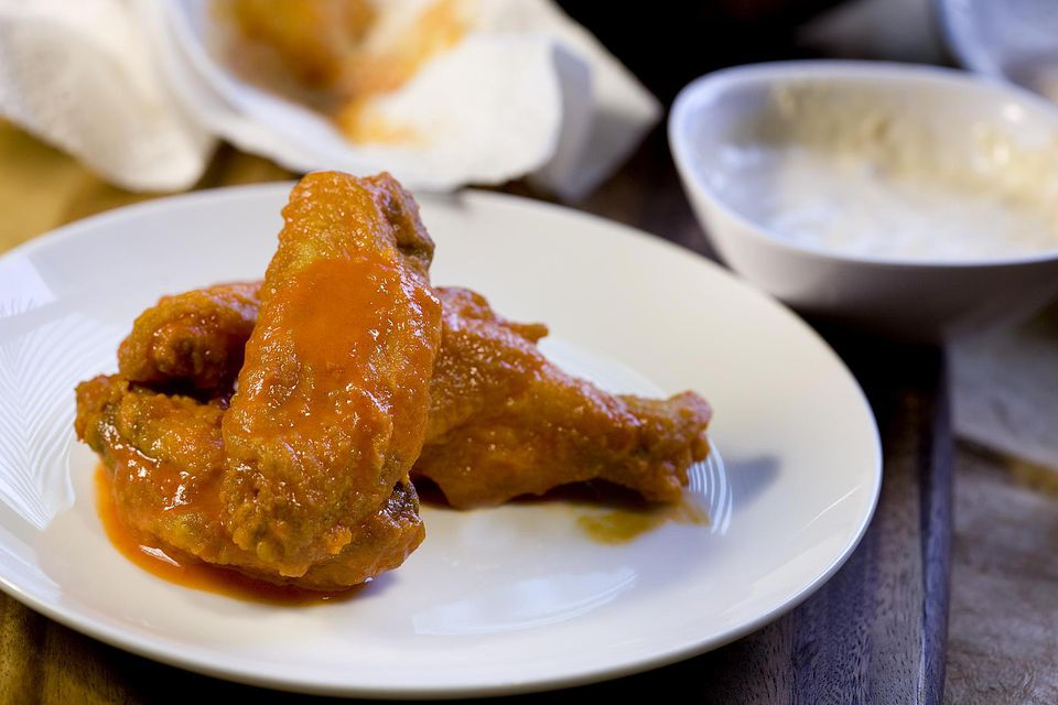 Buffalo style hot wings