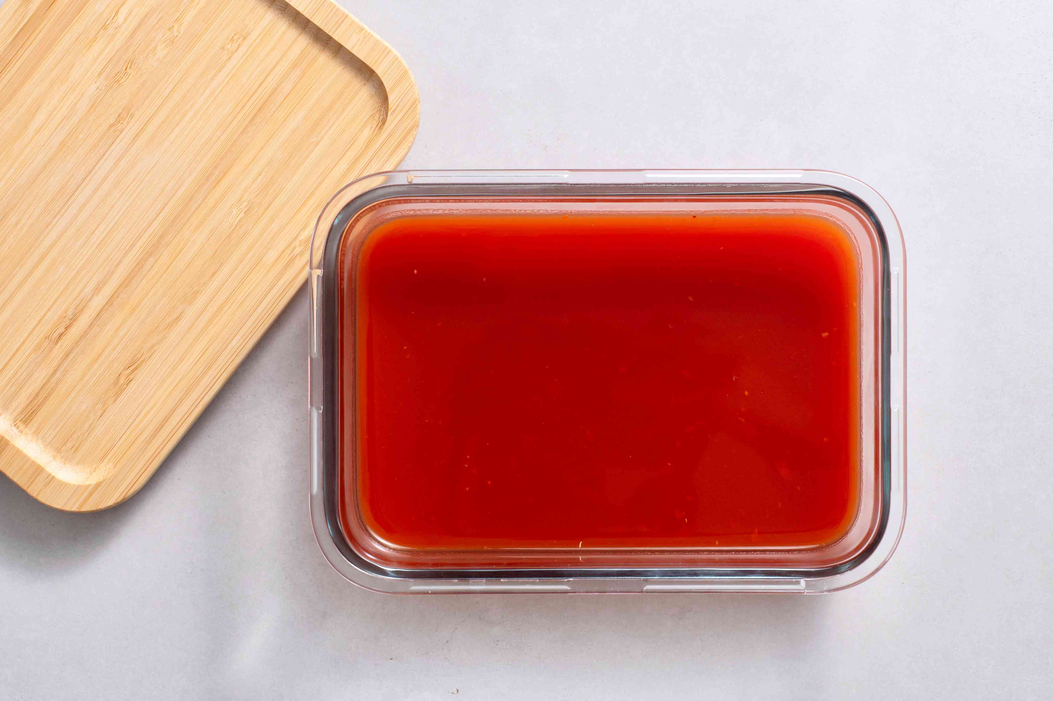 Piedmont Barbecue Sauce in a container
