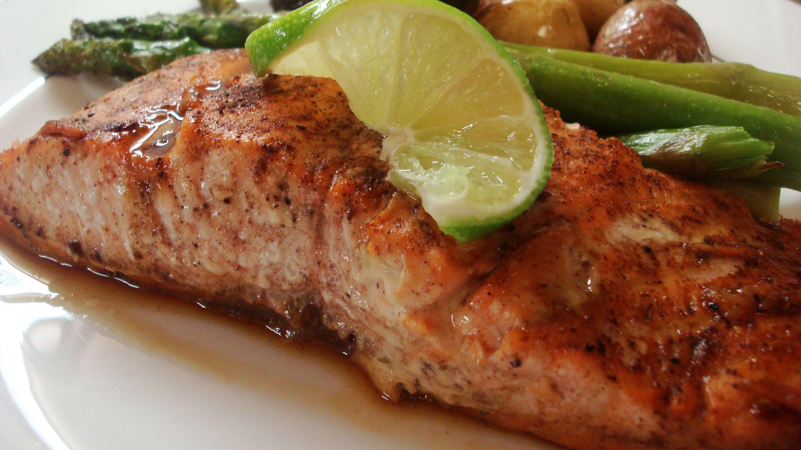 Indian Spiced Salmon With Garam Masala Recipe