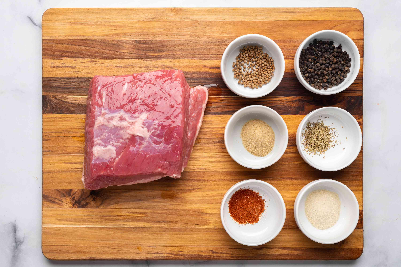 Smoked corned beef ingredients