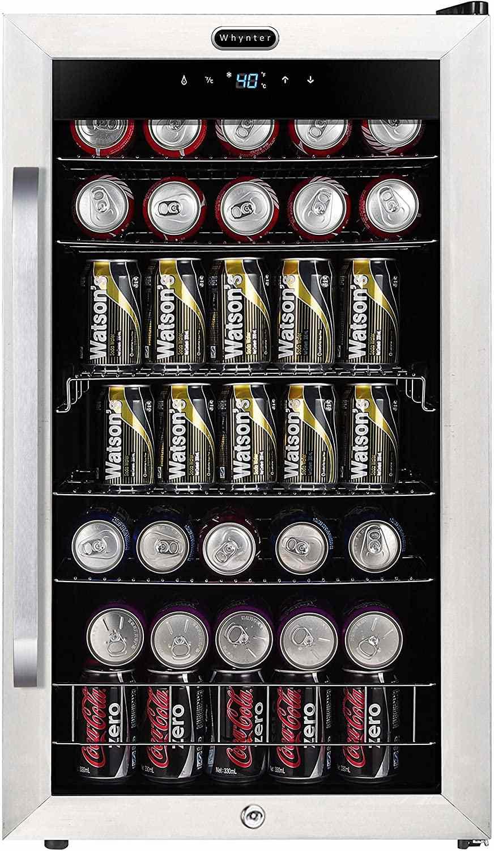 Whynter 121-Can Freestanding Beverage Refrigerator