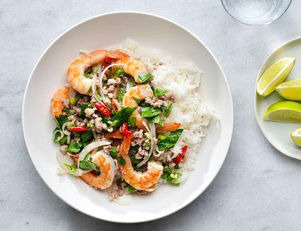 Thai Shrimp Salad (Shrimp Yum Goong)