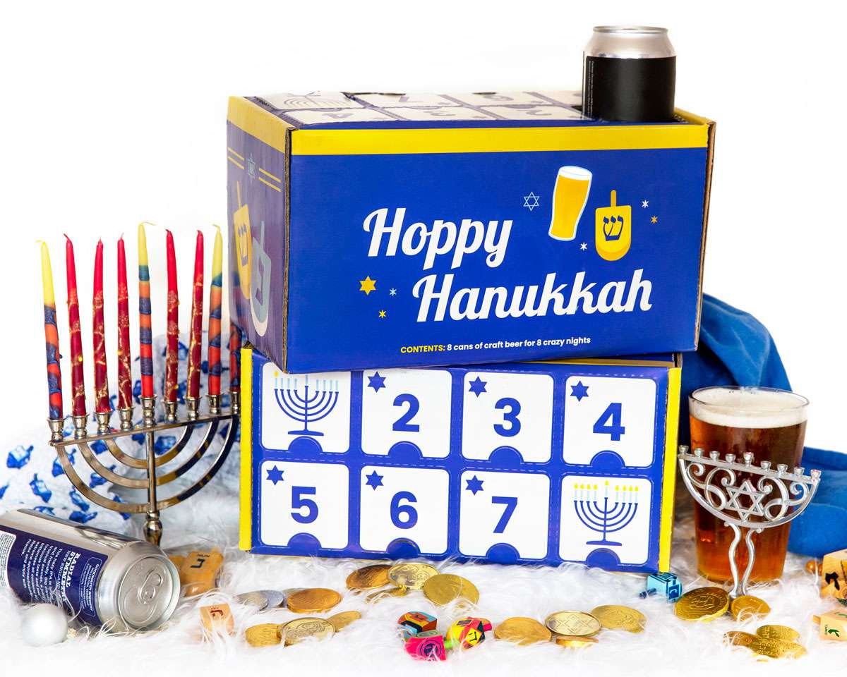 City Brew Tours Hoppy Hanukkah Craft Beer Box