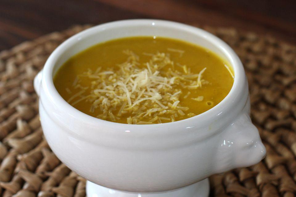 buttercup squash soup