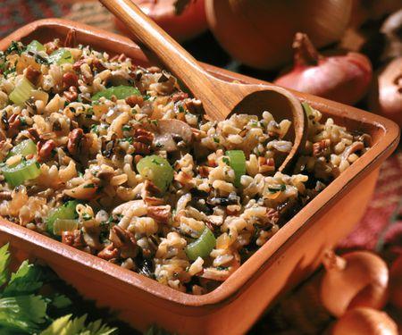Gluten Free Vegetarian Rice Stuffing Recipe