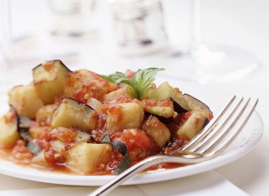 Ratatouille With Eggplant, Tomatoes, and Herbs