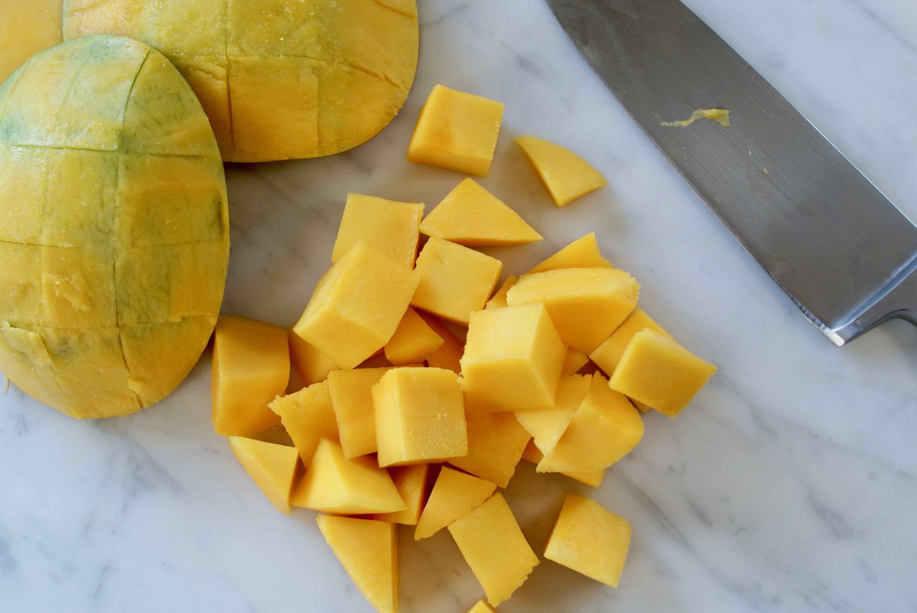 Chopped Mango