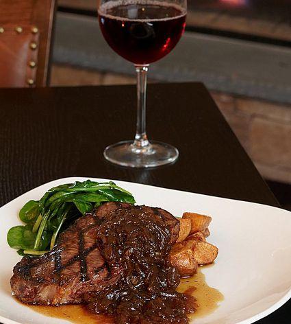 Grilled Buffalo Steak