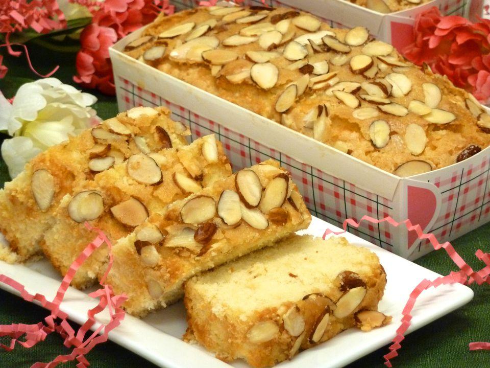 Almond Amaretto Mini-Loaves